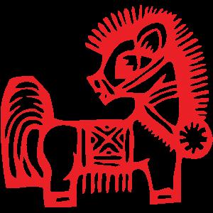 paper-horse